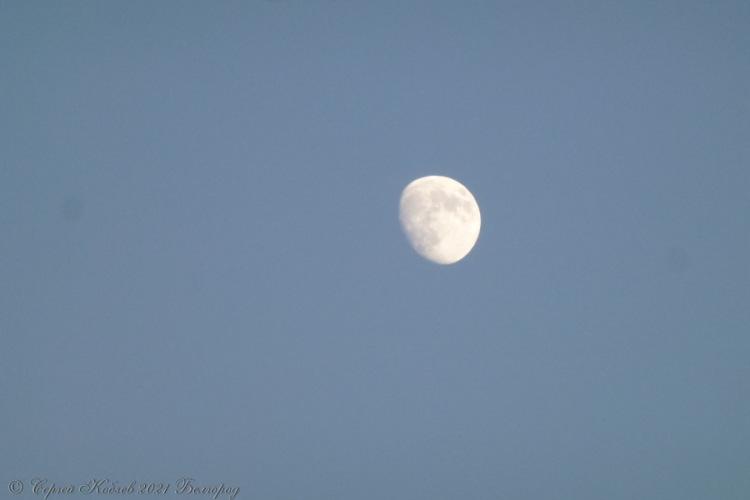 12. Вечерняя Луна